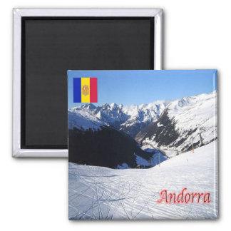 AD - Andorra - Grau Roig Square Magnet