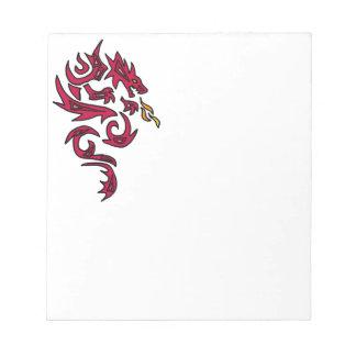 AD- Dragon Art Notepad