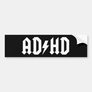 AD/HD bumper sticker / case sticker