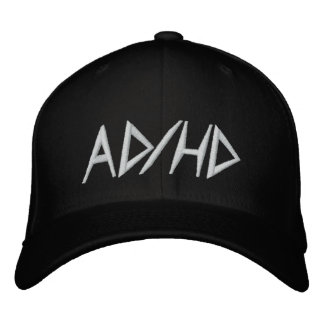 AD/HD EMBROIDERED HAT