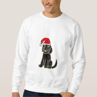 AD- Labradoodle in Santa Hat Shirt