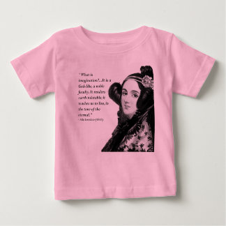 Ada Lovelace - on imagination Baby T-Shirt