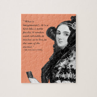 Ada Lovelace - on imagination Jigsaw Puzzle