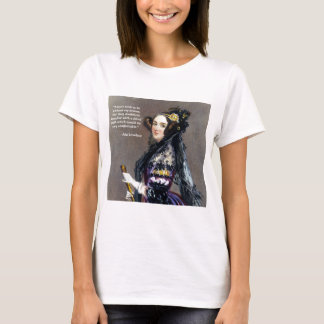 Ada Lovelace (Portrait by Alfred Chalon) T-Shirt