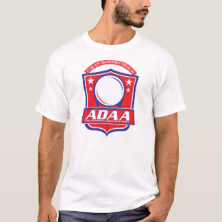 ADAA Dodgeball cult movie T Shirt
