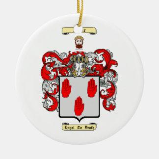 Adair Round Ceramic Ornament