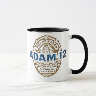 Adam-12 & Dragnet Mug