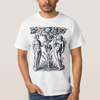 Adam and Eve and the Tree of Knowledge T-shirt