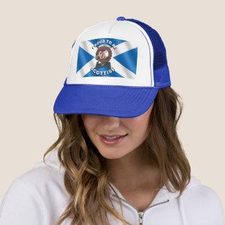 Adam Clan Badge Scottish Trucker Hat