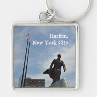 Adam Clayton Powell jr. monument in Harlem Keychain