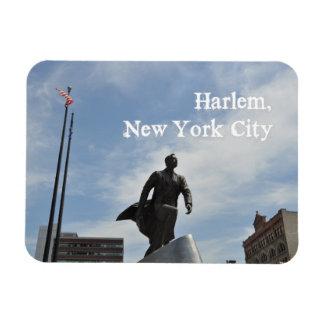 Adam Clayton Powell jr. monument in Harlem Rectangular Photo Magnet