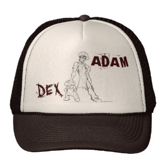 ADAM & DEX TRUCKER HAT (Murder Remix)
