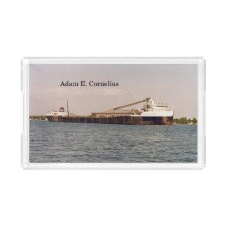 Adam E. Cornelius acrylic tray