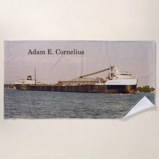 Adam E. Cornelius beach towel