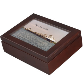 Adam E. Cornelius keepsake box