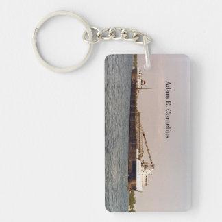 Adam E. Cornelius rectangle key chain