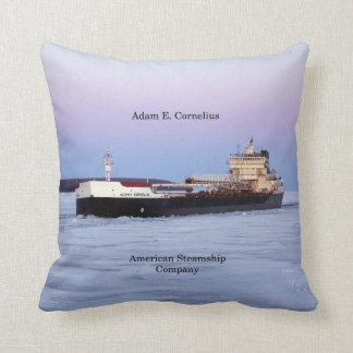 Adam E. Cornelius square pillow