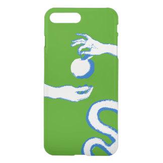 Adam Eve Forbidden Fruit Sketch Artistic Modern iPhone 8 Plus/7 Plus Case