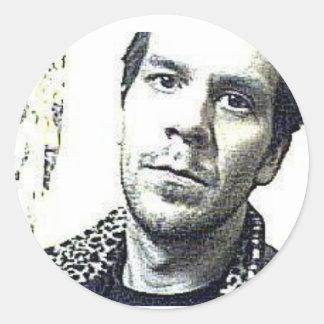 Adam Evola Wonder Round Sticker