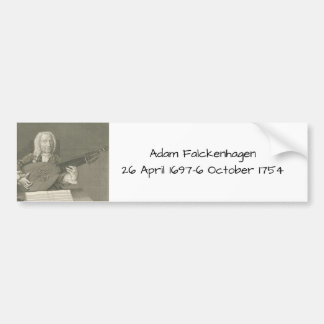 Adam Falckenhagen Bumper Sticker