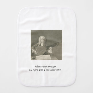 Adam Falckenhagen Burp Cloth