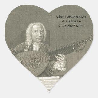 Adam Falckenhagen Heart Sticker
