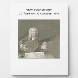 Adam Falckenhagen Plaque