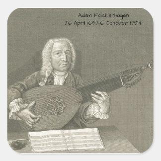 Adam Falckenhagen Square Sticker