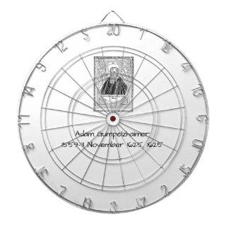 Adam Gumpelzhaimer 1625 Dartboard