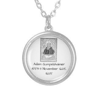 Adam Gumpelzhaimer 1625 Silver Plated Necklace