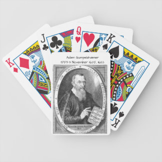 Adam Gumpelzhaimer Bicycle Playing Cards