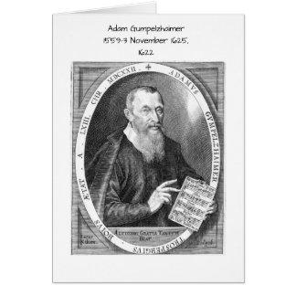 Adam Gumpelzhaimer Card
