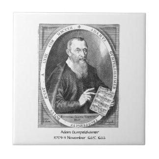 Adam Gumpelzhaimer Tile
