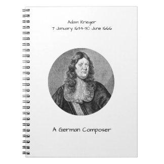 Adam Krieger Notebook