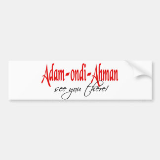 Adam Ondi Ahman Bumper Sticker