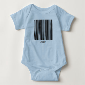 Adam Personalized Functional Barcode Tee