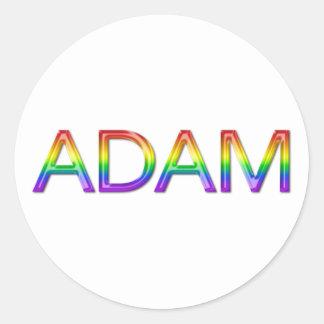 Adam - Rainbow - Stickers - 002
