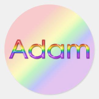 Adam - Rainbow - Stickers - 003