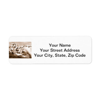 Adam Return Address Label
