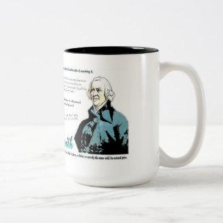 Adam smith Quotes Two-Tone Coffee Mug