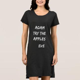 Adam, try the apples. Eve Dress