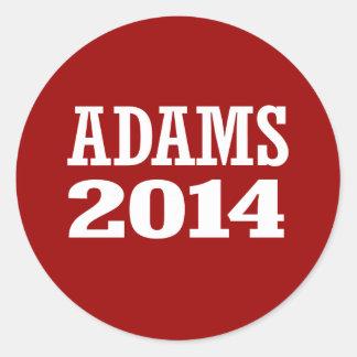 ADAMS 2014 STICKER