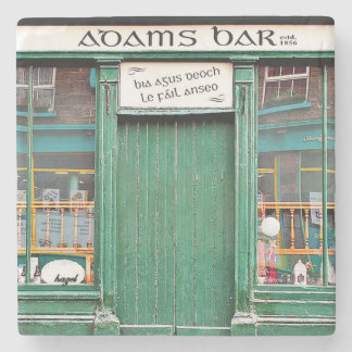 Adams Bar,, Dingle, Pubs, Irish, Coasters. Ireland Stone Coaster
