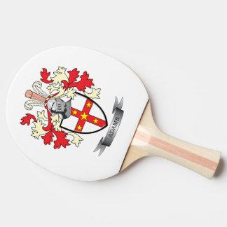Adams Coat of Arms Ping Pong Paddle