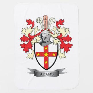 Adams Coat of Arms Swaddle Blanket