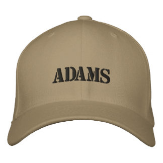 ADAMS EMBROIDERED HAT