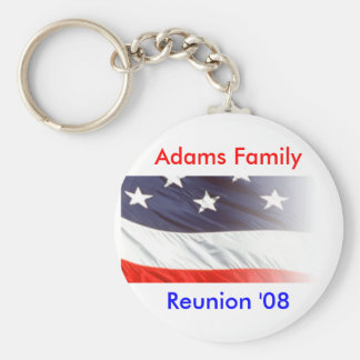 Adams Family Reunion Keychain