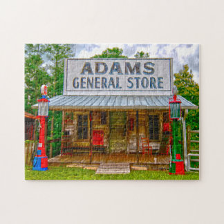 Adam's General Store Alabama. Jigsaw Puzzle
