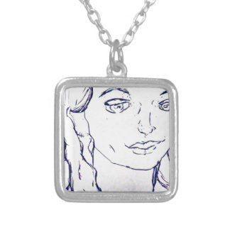 Adams Silver Plated Necklace