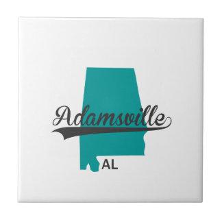 Adamsville Alabama AL City Gifts Ceramic Tiles